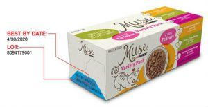 Muse wet cat food natural chicken recipe in gravy variety pack