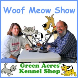 The Woof Meow Show podcast cover art