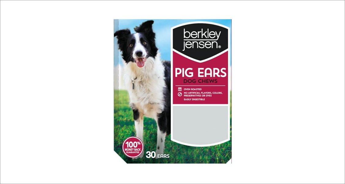 Dog Goods USA LLC Recalls Chef Toby and Berkley & Jensen Pig Ears Treats Due to Possible Salmonella Contamination