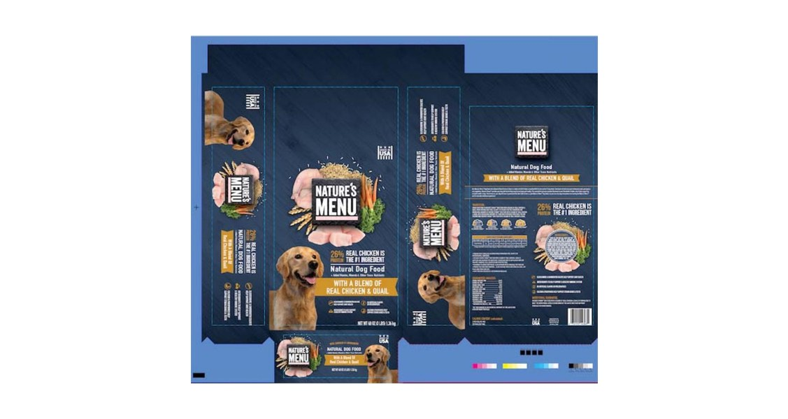 Sunshine Mills, Inc. Issues Recall of Nature's Menu® Super Premium Dog Food with a Blend of Real Chicken & Quail Due to Possible Salmonella Health Risk