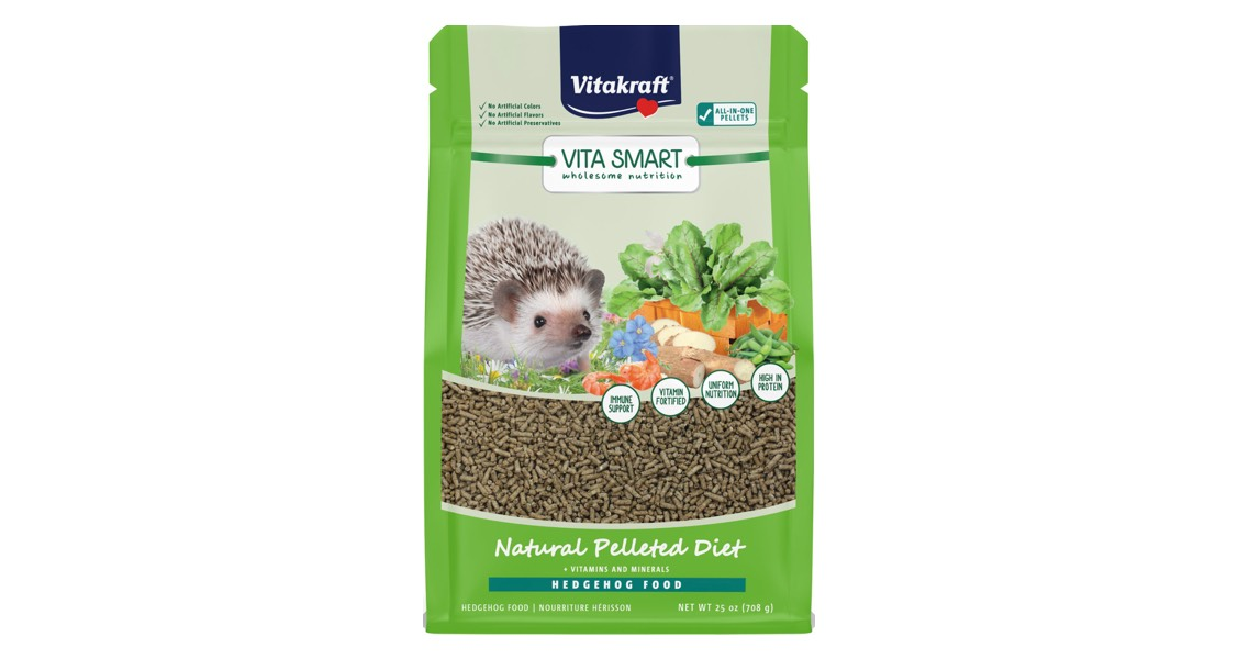 Vitakraft Sun Seed Inc. Recalls Vitakraft Vita Smart Hedgehog Food Due to Possible Salmonella Health Risk