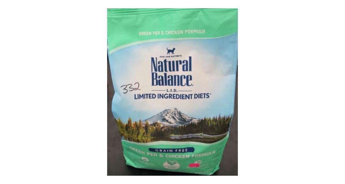 Natural Balance Pet Foods, Inc. Voluntarily Recalls L.I.D. Green Pea & Chicken Dry Cat Formula for Possible Salmonella Contamination