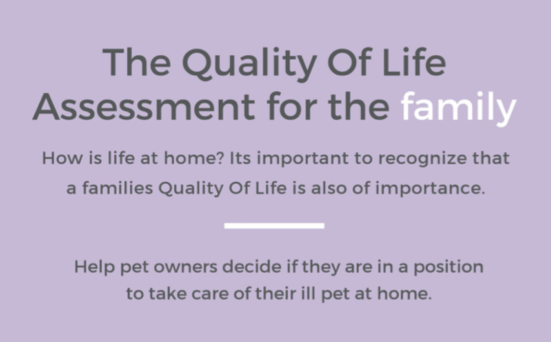 The Quality of Life Assessment for the Family