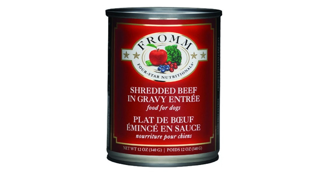 Fromm Family Foods Recalls Four Star Shredded Entrée Canned Food for Dogs Due to Elevated Levels of Vitamin D